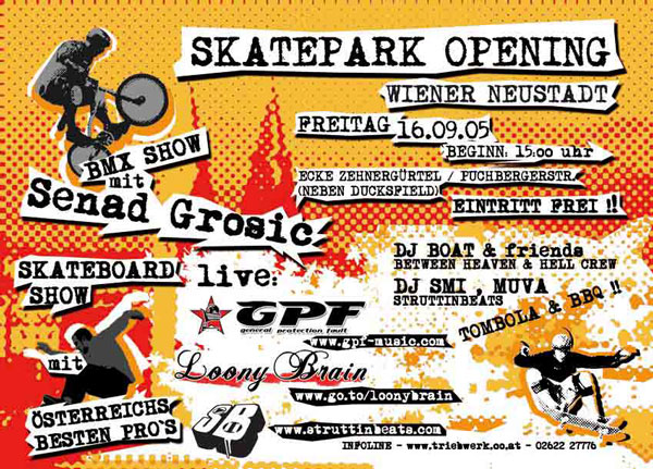 Struttinbeats-wiener-neustadt-Skatepark Opening - 16.9.05