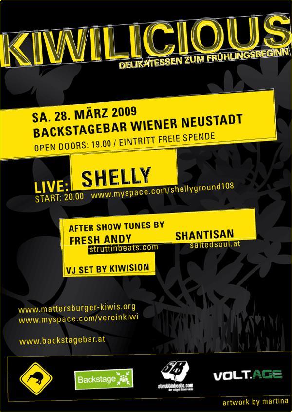 Struttinbeats-wiener-neustadt-Kiwilicious @ Backstage Bar