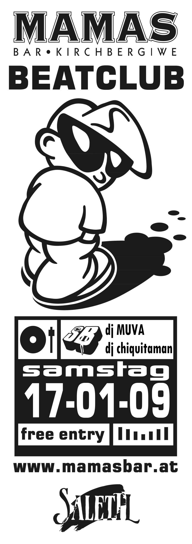 Beat Club Mamas Bar 17.1.09