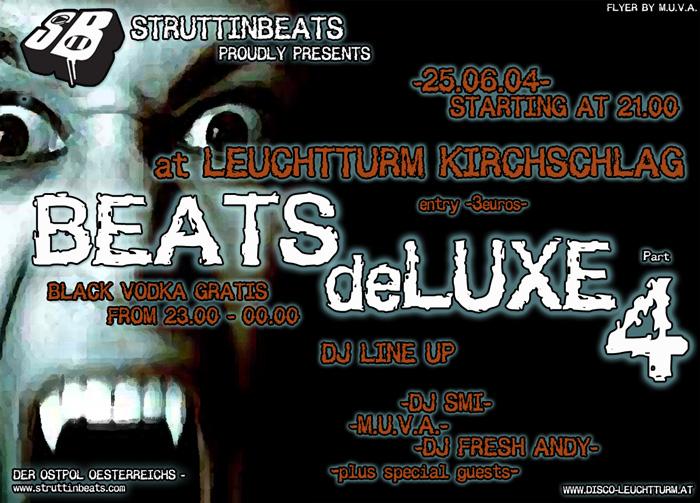 Struttinbeats-wiener-neustadt-Beats DeLuxe