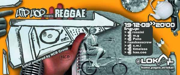HipHop vs Reggae – 19.12.03