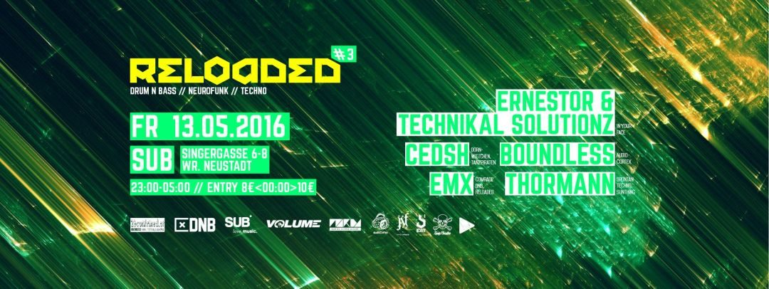 RELOADED #3 w/ IN YOUR FACE & AUDIOCORTEX